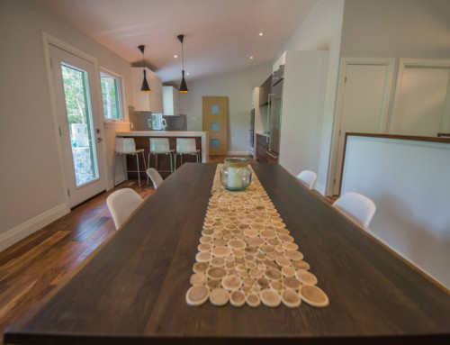 Windermere kitchen and dining room table